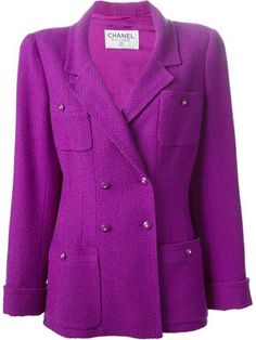 bouclé blazer..you can never have too many great jackets!