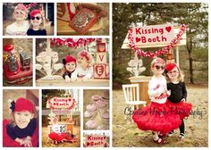 valentine photo shoot... I think I'm in need of some red props :)