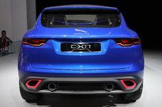 2014 Jaguar C-X17 Crossover Concept Rear View Wallpaper