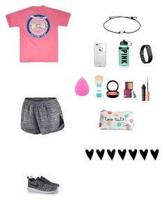 """It's Almost My Birthday"" by soccer-tumblr ❤ liked on Polyvore featuring NIKE, LifeProof, Fitbit, Victoria's Secret PINK, Zodaca, Maybelline, MAC Cosmetics, Benefit and Zoella Beauty"