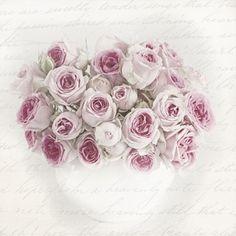 Szalvéta, Sagen - Vintage rózsás tál