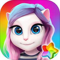 Talking Angela Color Splash by Outfit7 Limited