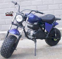 Monster Dog Minibike Old School, Big Tires