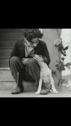 """He who feeds a hungry animal feeds his own soul."" -Charlie Chaplin"