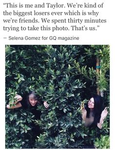 Selena Gomez and Taylor's friendship problems are out of the woods! The singers proved they're still best friends after Selena was getting chummy with T.Swift enemy Katy Perry, by posting a cute photo together! Selena Selena, Selena Gomez, Selena And Taylor, Taylor Alison Swift, Taylor Swift Squad, Live Taylor, Alex Russo, Out Of The Woods, New Friendship