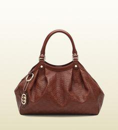 7551a35b9dfd deep red sukey guccissima leather tote Gucci Purses