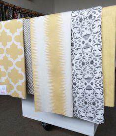 Lisbon Lattice, Grey Fabric from Tonic Living