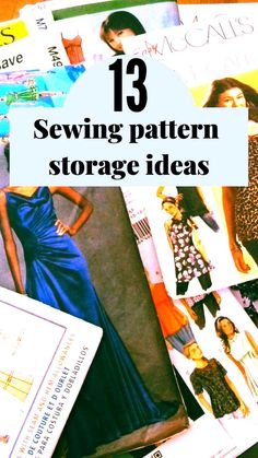 Check out this useful guide on how to organize sewing patterns. From useful and creative sewing pattern storage ideas to sewing pattern organization apps, you're sure to find a new system that works for you. All of our sewing areas are different from each other, so having a large variety of ideas to choose from will allow you to find the method that is most effective for you and your sewing room.