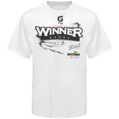 Chase Authentics DAYTONA(r) 500 Gatorade(r) 2nd Duel Winner T-Shirt - Nascar Extra Large by Chase Authentics. $18.95. Chase Authentics #9 Kasey Kahne White Duel 2 Winner T-shirt100% CottonLightweight ribbed T-shirtScreen print graphicsImportedRib-knit collarLightweight ribbed T-shirtScreen print graphicsRib-knit collarImported100% Cotton
