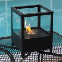 "9.5"" Sparo Indoor/Outdoor Table Top Ethanol Fireplace - NF-T2SPO"