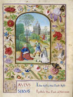 Gospels of Luke and John in the Vulgate and Erasmian (Novum Instrumentum) versions OriginEngland, S. E (London) Date7 September 1509, and after c. 1519