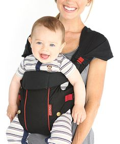 """Happy Baby, happy Mama! The Bliss carrier makes it easy to please both the carrier and little ones along for the ride thanks to its back support band, two position options and fully adjustable buckles for a perfect fit.Recommended for infants 8 to 30 pounds6.0 """" W x 5.0 """" H x 12.0 """" LCotton"""