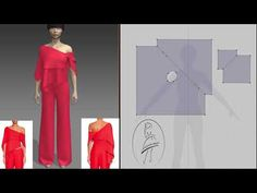 Топ Rosie Assoulin 2016 и его вариант кроя - YouTube Big Size Fashion, 3d Fashion, Fashion Sewing, Fashion Studio, Sewing Patterns Free, Free Pattern, Pattern Ideas, Draped Dress, Strapless Dress