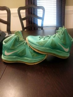 35e54663398e I have for sale a USED and authentic pair of Nike Air Lebron 10 Area 72 Size  The sneakers are in Condition as they have minor blemishes and creasing.