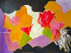Saatchi Online Artist: Cecile Brunswick; Oil, 2012, Painting Ranuncula