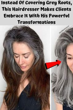 It all started three years ago. A woman walked into colorist Jack Martin's California salon and told him that she had been dyeing her hair from gray to brown with at-home b