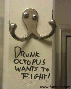 Drunt Octopus