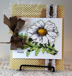 Dream in Color...Card created by Deborah Saaranen using JustRite: Hello Daisy