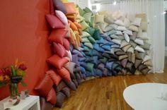 Carnegie Showroom Pillow Wall