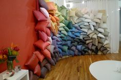 Carnegie Showroom Pillow Wall