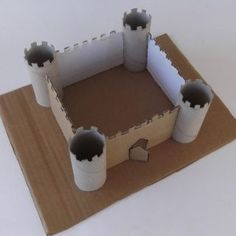 Paper castle, castle from toilet paper rolls, how to .Paper castle, castle made of toilet paper rolls, how to . paper castle toilet paper rollsCrafts with toilet paper rolls - Toilet Roll Craft, Toilet Paper Roll Crafts, Diy Paper, Projects For Kids, Diy For Kids, Craft Projects, Crafts For Kids, Crafts Cheap, Craft Ideas