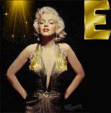 Marilyn Monroe letter E alphabet gif animated