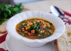 Iraqi White Bean Soup with tomatoes