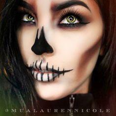 That Skull Babe Glam Insta Artist: @mualaurennicole