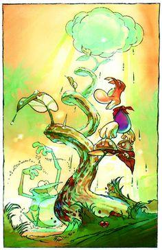 Rayman 2: The Great Escape Concept Art