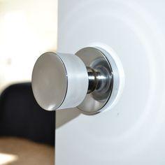 Sure-Loc Polished Chrome Modern Round Doorknob - Overstock™ Shopping - Big Discounts on Sure-loc Door Hardware