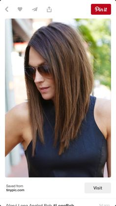 If i could get the front on my hair to grow, would love this style and length