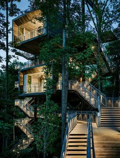 The 10 Most Sustainable Architecture Projects In The U. - - The 10 Most Sustainable Architecture Projects In The U. Architektur i just love stairs…. Glen Jean, West Virginia / Mithun with BNIM © Joe Fletcher Architecture Design, Cabinet D Architecture, Sustainable Architecture, Sustainable Design, Amazing Architecture, Design Architect, Contemporary Architecture, Sustainable Environment, Green Architecture