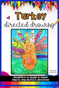 Turkey Directed Drawing!!