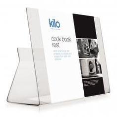 Atril de Metacrilato para libros de cocina y IPad | Alambique: Venta online menaje de cocina