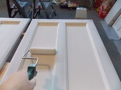 how to diy a professional finish when repainting your kitchen cabinets, how to, kitchen cabinets, kitchen design, painting Plywood Cabinets, Painting Oak Cabinets, Built In Cabinets, Custom Cabinets, Laminate Cabinets, Painting Laminate, Antique Cabinets, Diy Kitchen Cabinets, Kitchen Paint