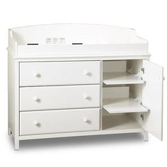 """South Shore Cotton Candy Changing Table - Pure White - South Shore Furniture - Babies """"R"""" Us"""