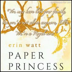 Paper Princess (The Royals by Erin Watt Royals Series, Elle Kennedy, Favorite Book Quotes, Princess Quotes, True Happiness, World Of Books, Book Nerd, Picture Quotes, Book Lovers