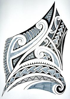 Image for Tribal Tattoo Designs For Women On Side Tribal tattoo design (female