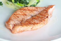 Recipe including course(s): Entrée; and ingredients: dijon mustard, garlic, olive oil, salmon, soy sauce