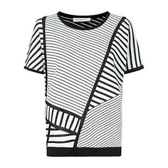 Buy Windsmoor Graphic Sweater, Ivory Online at johnlewis.com