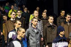 Paris Fashion Week: Men F/W 2014 – Kenzo
