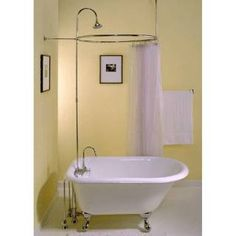 "Check out the Sign of the Crab P0732 Shower Riser with 8"" Gooseneck Projection priced at $110.25 at Homeclick.com."