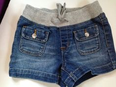 NEW Justice Girl's Knit Waist Denim Short Lot Sz 10S Slim Birthday's GIFT Camp #Justice #Everyday