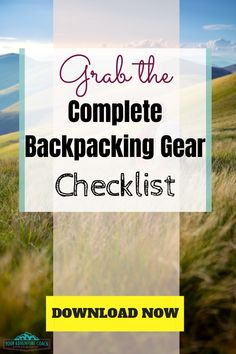 Backpacking can be a great way to escape your mundane for some days (or (or weeks / months / years). But, it could be dangerous if you don't understand what you're doing.These beginner backpacking tips… Backpacking Gear List, Camping Checklist, Ultralight Backpacking, Hiking Tips, Hiking Gear, Hiking Backpack, Trekking Gear, Hiking Training, Camper Awnings