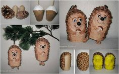 Toilet Paper Roll Christmas Ornaments Toilet paper roll and pine Christmas Nativity Scene, Christmas Music, Christmas Crafts, Christmas Decorations, Christmas Ornaments, Toilet Roll Craft, Toilet Paper Roll Crafts, Paper Crafts, Paper Art