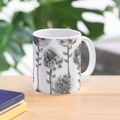 'Ink Flowers' Mug by PounceBoxArt Cute Mugs, Mug Designs, My Arts, Iphone Cases, Ink, Art Prints, Printed, Tableware, Awesome