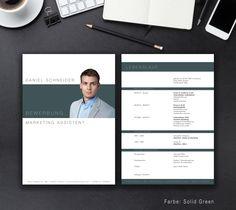 """Unsere Bewerbungsvorlage """"Business"""" in der Farbe Solid Green. Mit der stilsicheren Vorlage """"Business"""" heben sie sich von allen anderen ab und zeigen, dass kein Weg an Ihnen vorbeiführt. Sie erhalten von uns ein Deckblatt, Anschreiben, Lebenslauf, Motivationsschreiben und eine Abschlussseite. Die Datei bekommen Sie als fertige Pages- oder Word-Datei inklusive Platzhaltertext mit Hinweisen."""