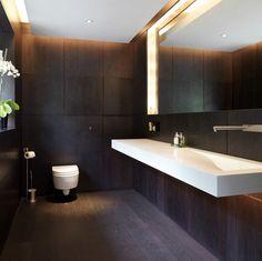 Timber Finish Contemporary Bathroom Design