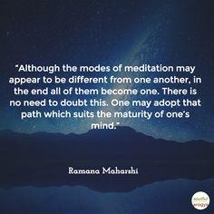 Ramana Maharshi Quote