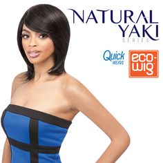 OUTRE SYNTHETIC FULLCAP QUICK WEAVE ECO WIG NATURAL YAKI 12